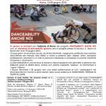 Comunicato_DanceabilityAncheNoi_IscrizioniRoma6-5-15